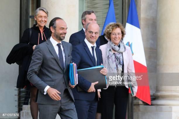 French Transports Minister Elisabeth Borne French Prime Minister Edouard Philippe French Junior Foreign Affairs Minister JeanBaptiste Lemoyne French...