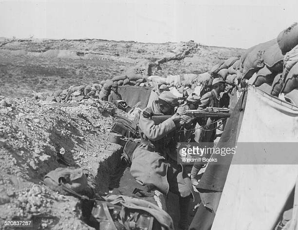 French troops in Gallipoli Front line 1915