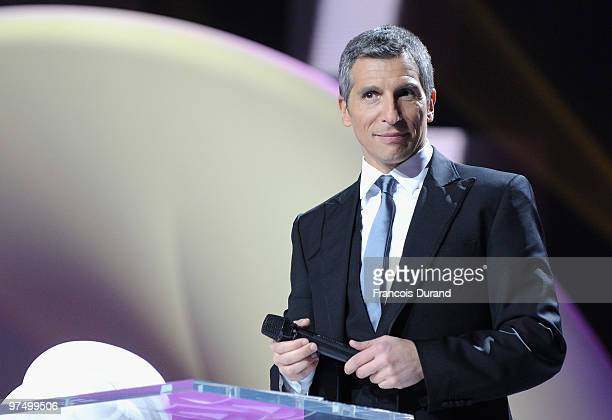 French TV host Nagui attends the 25th Victoires de la Musique yearly French music awards ceremony at Zenith de Paris on March 6 2010 in Paris France