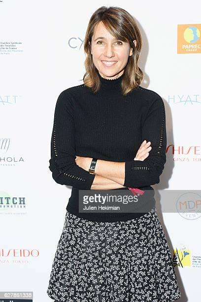 French TV Presenter Alexia Laroche Joubert attends the 'Prix De La Femme D'Influence De L'Annee' Award Ceremony At Hyatt Regency Paris Etoile In...