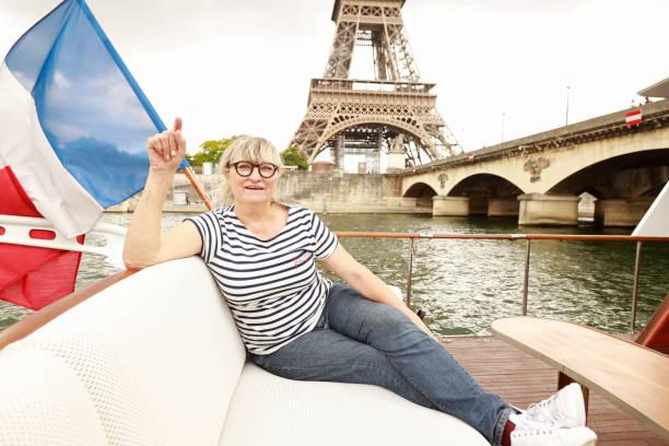 """FRA: """"Sous Les Jupons De La Seine"""" : """"Frou-Frou"""" Cruises On The River Seine"""