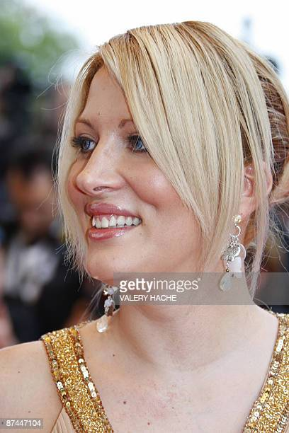 French TV reality star Loana arrives for the screening of the movie 'Vengeance' in competition at the 62nd Cannes Film Festival on May 17 2009 AFP...