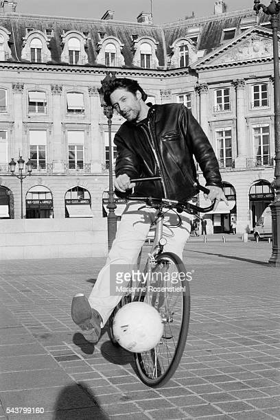 French TV show host writer actor and director Antoine de Caunes