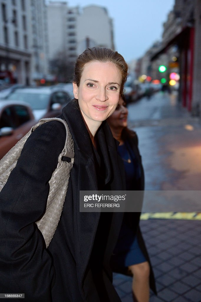 French UMP opposition right-wing party member and former minister Nathalie Kosciusko-Morizet arrives to attend a meeting of the UMP political committee, at the party headquarters on December 19, 2012 in Paris. UMP President Jean-Francois Cope and former Prime Minister Francois Fillon, the rivals in the leadership row which split French former ruling party, the UMP, agreed on December 17, 2012 to a new internal election after a bitterly-contested first vote last month. Kosciusko-Morizet launched on November 14, 2012, her movement 'La France droite' (France right).