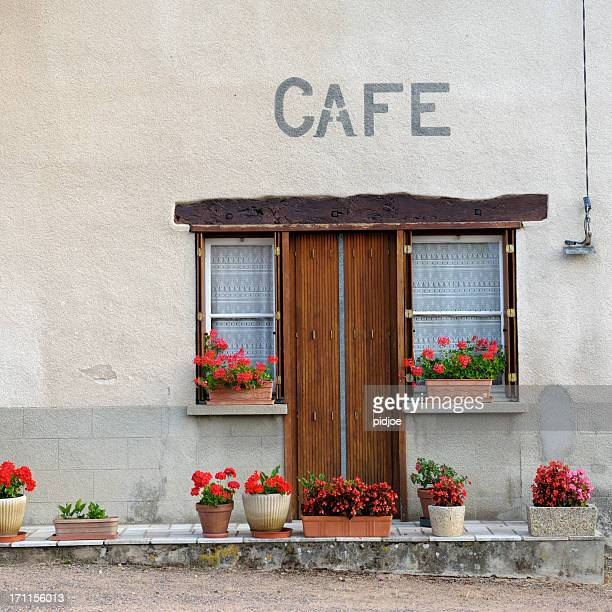 French village cafe