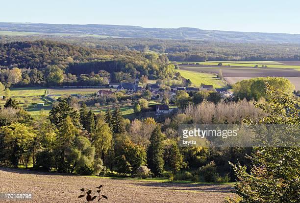 French village Craonne et de ses environs, Picardie, France