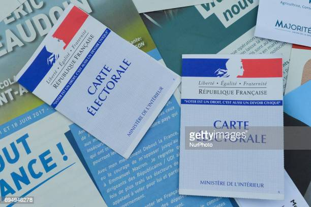 French voter's cards French legislative elections are scheduled to take place on 11 and 18 June to elect the 577 members of the 15th National...