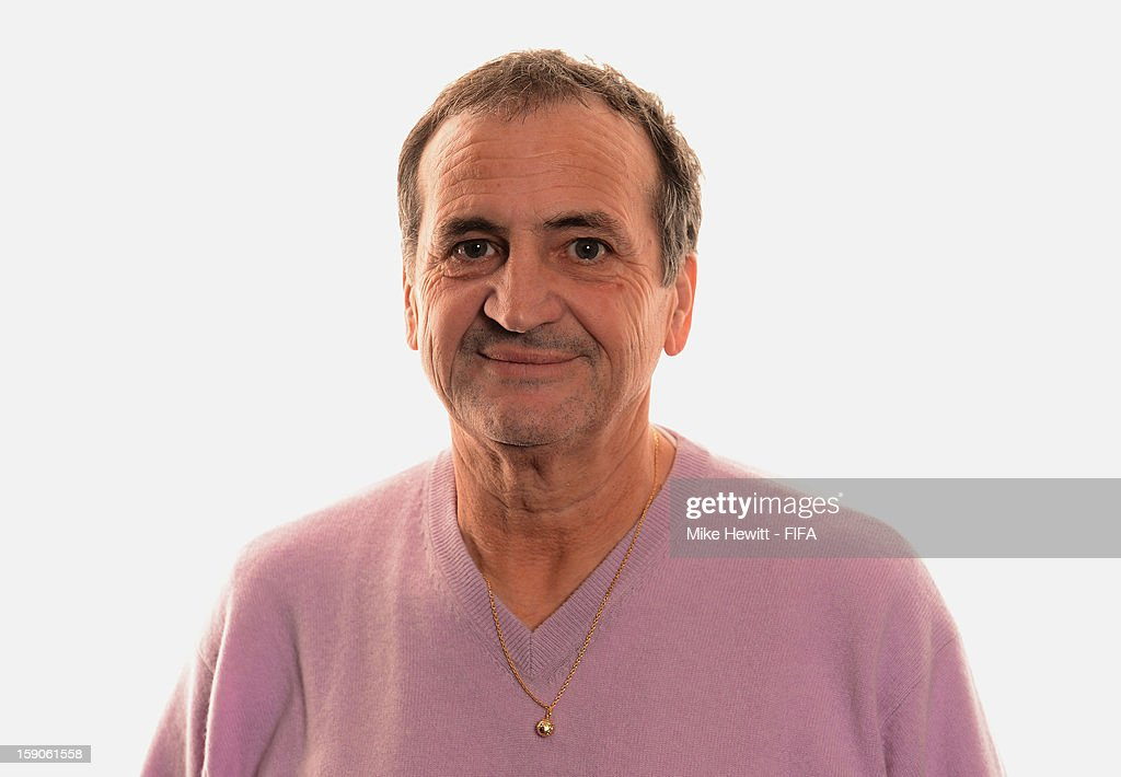 French women's national team coach Bruno Bini poses for a portrait prior to the FIFA Ballon d'Or Gala 2012 at the Kongresshaus on January 7, 2013 in Zurich, Switzerland.