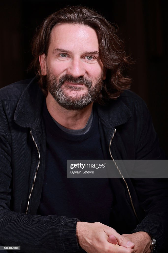 French writer and director <a gi-track='captionPersonalityLinkClicked' href=/galleries/search?phrase=Frederic+Beigbeder&family=editorial&specificpeople=2164723 ng-click='$event.stopPropagation()'>Frederic Beigbeder</a> poses before press conference for his last film 'L'ideal' on May 31, 2016 in Lille, France.