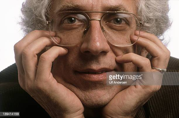 French writer and historian Tzvetan Todorov poses during a portrait session held on October 11 in Paris France
