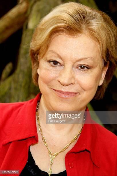 French writer Francoise Chandernagor at 'la foret des livres ' in chanceaux près loche