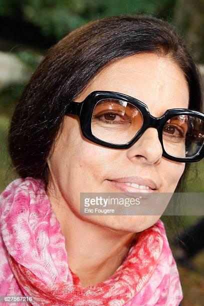 French writer Francoise Meyers Bettencourt at 'la foret des livres ' in chanceaux près loche