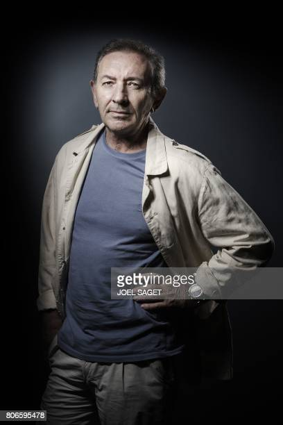 French writer JeanMarie Blas de Robles poses during a photo session in Paris on June 23 2017 / AFP PHOTO / JOEL SAGET