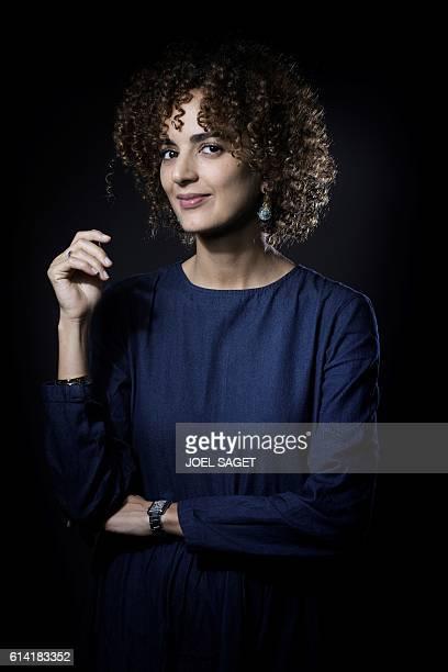 French writer Leila Slimani poses in Paris on September 28 2016 / AFP / JOEL SAGET
