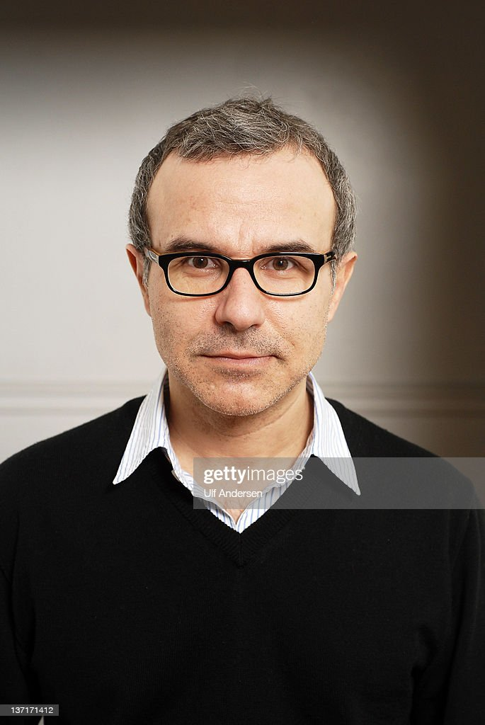 PARIS, FRANCE - JANUARY 5. French writer Philippe Besson poses during a portrait session held on January 5, 2012 in Paris, France.
