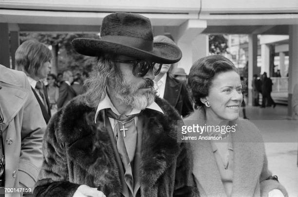 FrenchAmerican art dealer Fernand Legros at Longchamp Racecourse Paris 2nd June 1975 For many years Legros sold works by the painter and prolific art...