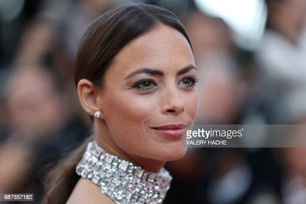 FrenchArgentinian actress Berenice Bejo poses as she arrives on May 23 2017 for the '70th Anniversary' ceremony of the Cannes Film Festival in Cannes...