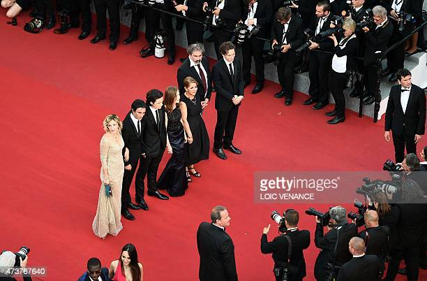 FrenchItalian actress Valeria BruniTedeschi French director Samuel Benchetrit French actor Jules Benchetrit French actress Isabelle Huppert Algerian...