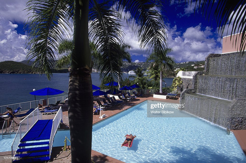 Frenchman's Reef Resort Morningstar Bay, St Thomas : Stock Photo