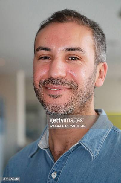 FrenchMoroccan author and director Mohamed El Khatib poses in Paris on November 10 2016 / AFP / JACQUES DEMARTHON