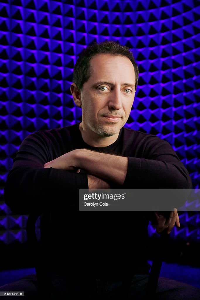French-Moroccan comedian Gad Elmaleh is photographed for Los Angeles Times on February 11, 2016 in New York City. PUBLISHED IMAGE.