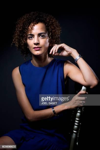 FrenchMoroccan writer Leila Slimani poses in Paris on September 13 2016 / AFP / JOEL SAGET