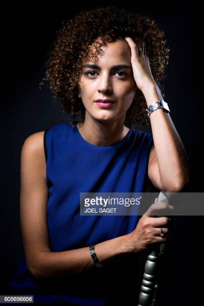 FrenchMoroccan writer Leila Slimani poses in Paris on September 13 2016 / AFP / JOEL SAGET