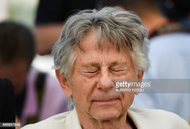 FrenchPolish director Roman Polanski attends on May 27 2017 a photocall for the film 'Based on a True Story' at the 70th edition of the Cannes Film...