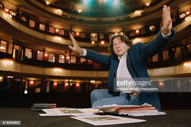 FrenchPolish director Roman Polanski is in the Theatre de la Porte StMartin in Paris He is producing the Terrence McNally play Master Class starring...