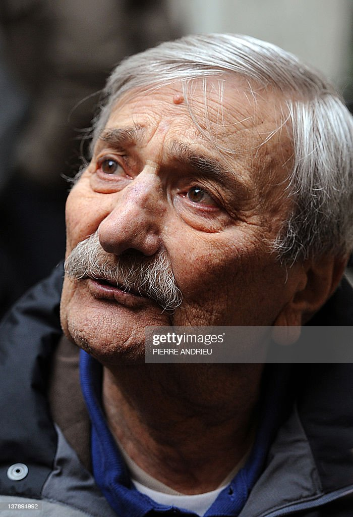 French's cartoonist Fred aka Frederic Othon is pictured as he attends the 39th edition of Angouleme world comic strip festival, on January 29, 2012 in Angouleme, southwestern France.