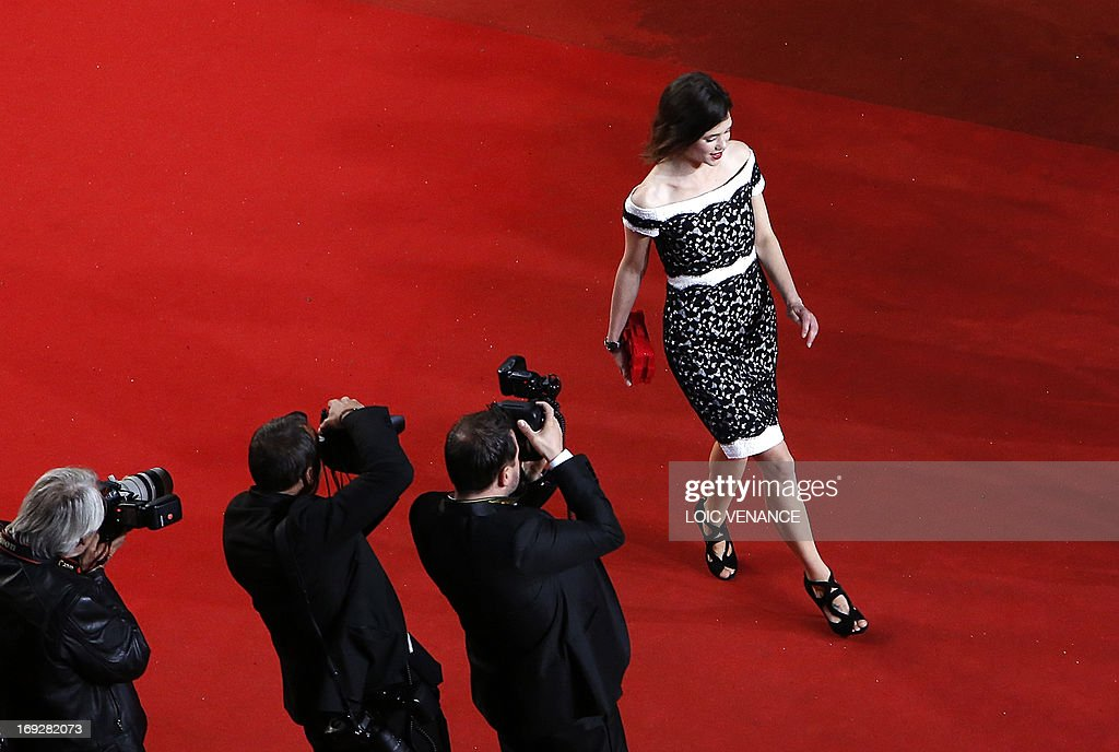 French-Spanish actress Astrid Berges-Frisbey arrives on May 22, 2013 for the screening of the film 'Only God Forgives' presented in Competition at the 66th edition of the Cannes Film Festival in Cannes. Cannes, one of the world's top film festivals, opened on May 15 and will climax on May 26 with awards selected by a jury headed this year by Hollywood legend Steven Spielberg.