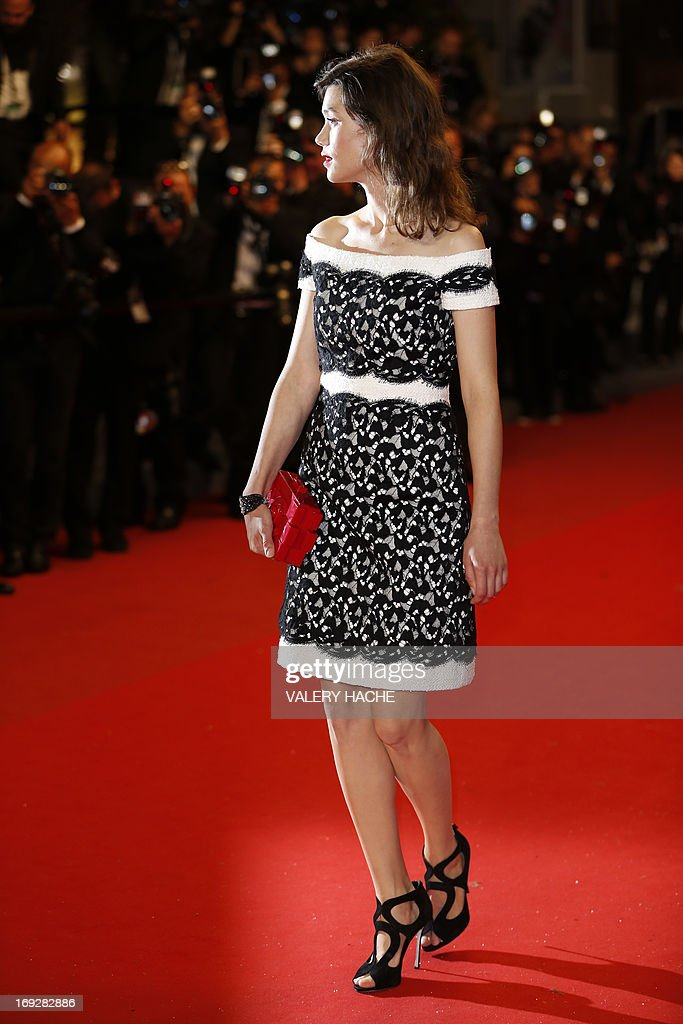 French-Spanish actress Astrid Berges-Frisbey poses on the red carpet on May 22, 2013 as she arrives for the screening of the film 'Only God Forgives' presented in Competition at the 66th edition of the Cannes Film Festival in Cannes. Cannes, one of the world's top film festivals, opened on May 15 and will climax on May 26 with awards selected by a jury headed this year by Hollywood legend Steven Spielberg.