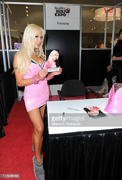 Frenchy attends Reality Rocks Expo Day 2 at the Los Angeles Convention Center on April 10 2011 in Los Angeles California