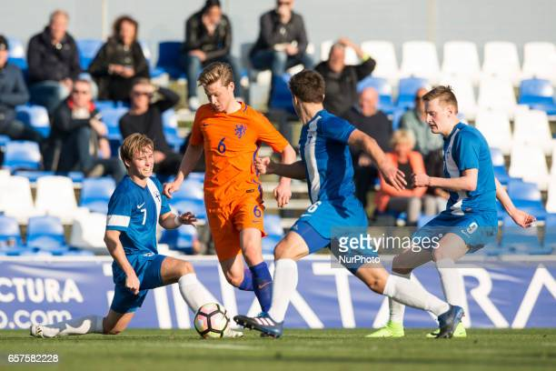 Frenkie de Jong during the friendly match of national teams U21 of The Netherlands vs Finland in Pinatar Arena Murcia SPAIN March 24rd 2017