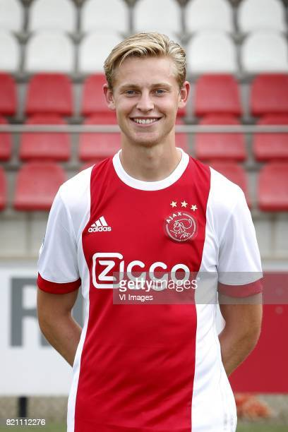 Frenkie de Jong during the team presentation of Ajax on July 22 2017 at the at the Toekomst in Amsterdam The Netherlands