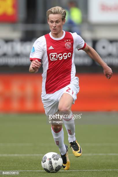 Frenkie de Jong of Ajax during the Dutch Eredivisie match between ADO Den Haag and Ajax Amsterdam at Car Jeans stadium on September 17 2017 in The...
