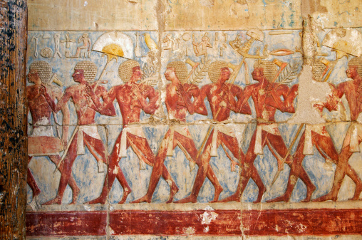 Ancient egyptian painting stock photos and pictures for Beni hasan mural
