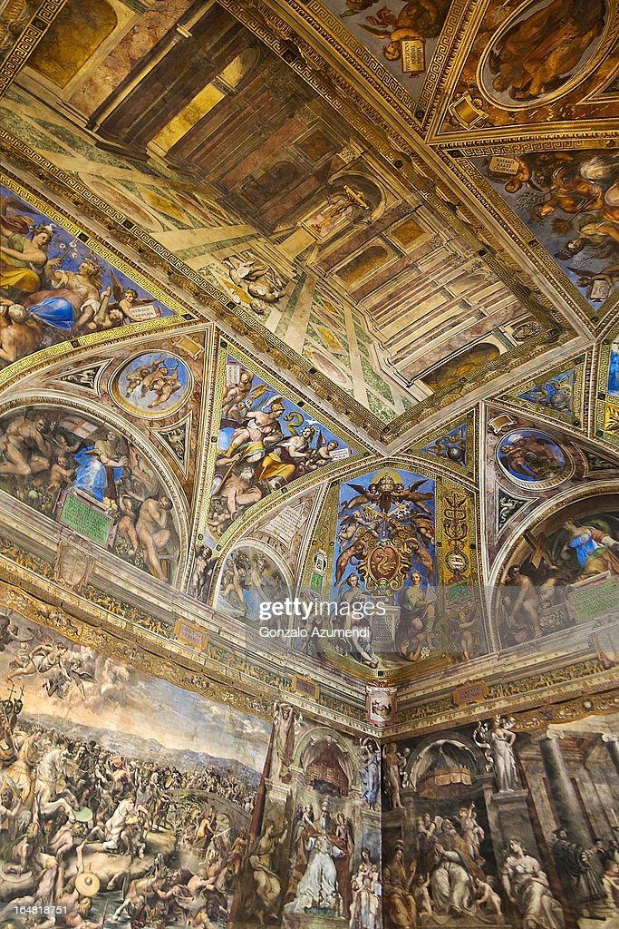 Fresco in Vatican Museum.