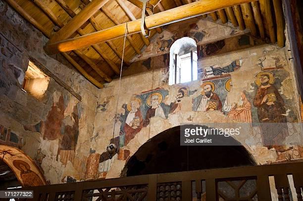 Frescoes at Deir Mar Musa in Syria