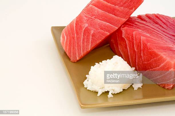 Fresh Ahi and Rice