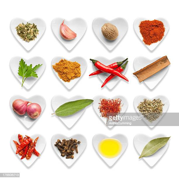 Fresh and dried Italian herbs, spices and cooking ingredients