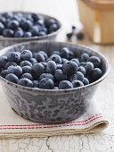 Fresh and organic Maine blueberries
