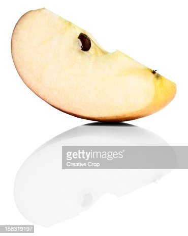 Fresh apple wedge