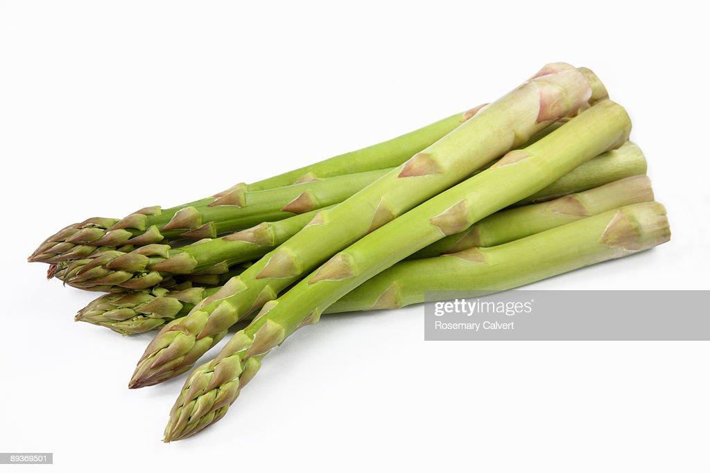 Fresh asparagus : Stock Photo
