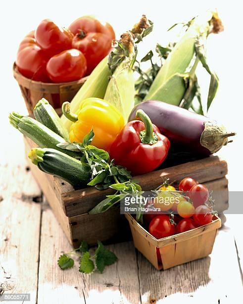 Fresh assortment of vegetables