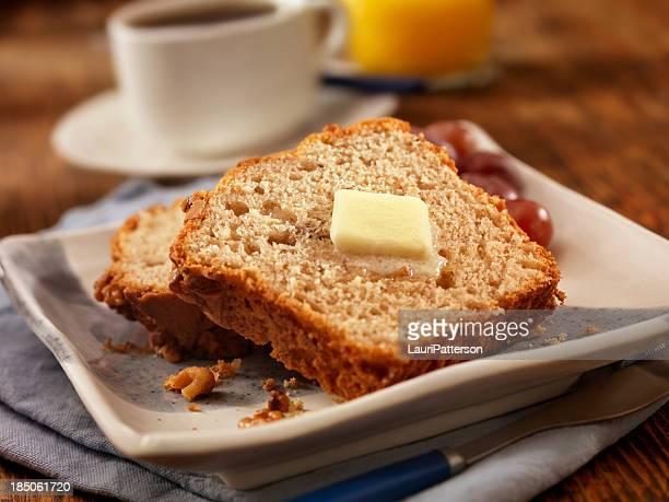 Frisch gebackene Banane Brot