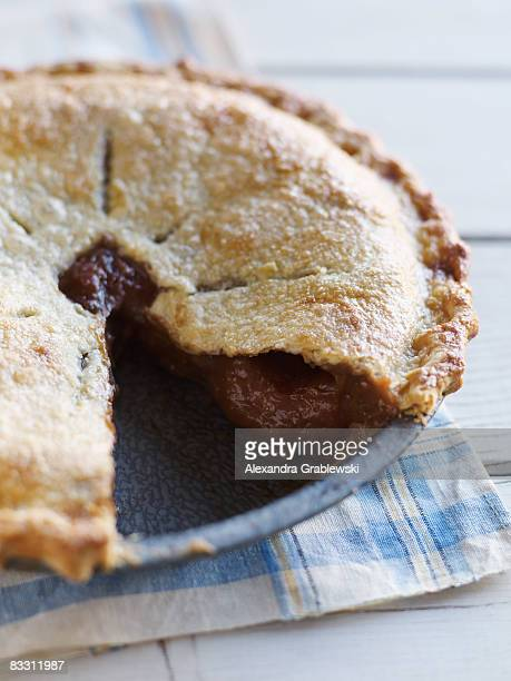Fresh Baked Rhubarb Pie