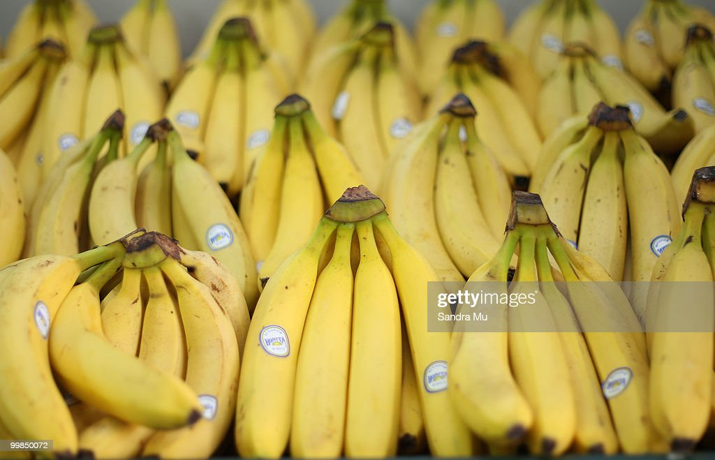 Fresh bananas are on display but prices are set to rise in the next budget announcement if GST is increased on fruit and vegetables on May 18 2010 in...