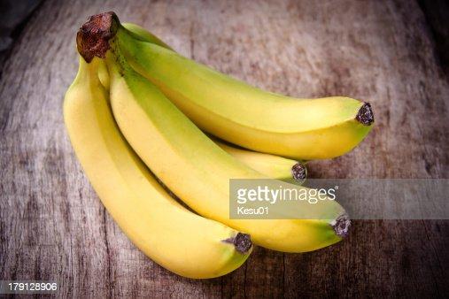 fresh bananas : Stock Photo