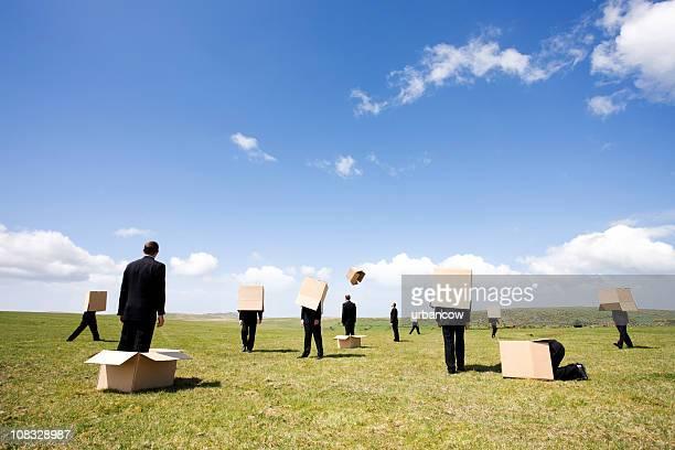 Fresh batch of businessmen